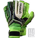 Reusch RE:CEPTOR Deluxe G2 Ortho-Tec Goalkeeper Gloves - Black and Green