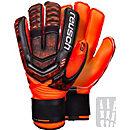 Reusch RE:LOAD Supreme G2 Ortho-tec Goalkeeper Gloves - Black & Shocking Orange