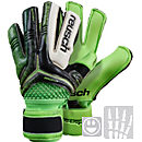 Reusch Youth RE:CEPTOR Pro M1 Ortho-Tec Goalkeeper Gloves - Black and Green
