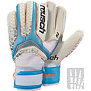 Reusch Pulse Pro A2 Ortho-Tec Goalkeeper Gloves - White & Water Blue