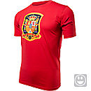 adidas Youth Spain Country Crest Tee  Red
