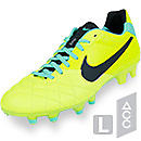 Nike Tiempo Legend IV FG Soccer Cleats  Volt with Green Glow