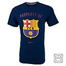Nike Kids Barcelona Crest T-Shirt