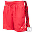 Nike Womens E4 Woven Short  Hyper Red with Melon