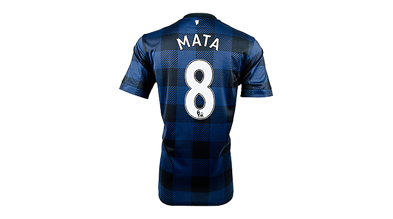 Nike Manchester United Juan Mata Away Jersey 2013-2014