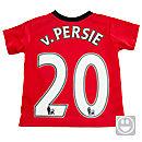 Nike Manchester United Little Boys v. Persie Home Kit 2013-2014