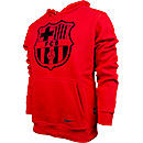 Nike Barcelona Core Hoodie  Red with Navy