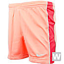 Nike Womens Academy Knit Shorts  Atomic Pink with Red