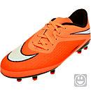 Nike Kids Hypervenom Phelon FG Soccer Cleats - Hyper Crimson