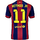 Nike Neymar Barcelona Home Jersey 2014-15