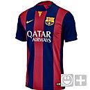 Nike Youth Barcelona Home Jersey 2014-2015