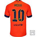 Nike Kids Messi Barcelona Away Jersey 2014-15