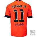 Nike Kids Neymar Barcelona Away Jersey 2014-15