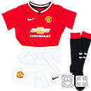 Nike Lil Boys Manchester United 2014-15 Home Kit