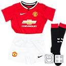 Nike Lil Boys Manchester United 2014-15 Home Kit