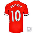 Nike Kids Rooney Manchester United Home Jersey 2014-15