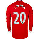 Nike van Persie Manchester United L/S Home Jersey 2014-15