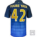 Nike Kids Yaya Toure Manchester City Away Jersey 2014-15