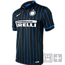 Nike Inter Milan Kids 2014-15 Home Jersey - Black and Blue