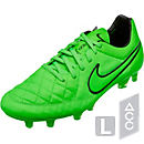 Nike Tiempo Legend V FG Soccer Cleats - Green Strike and Black