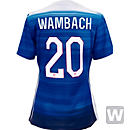 Nike Abby Wambach USA Away Jersey 2015