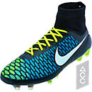 Nike Magista Obra FG Soccer Cleats - Black and Volt