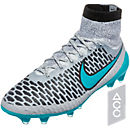 Nike Magista Obra FG Soccer Cleats - Grey and Black