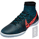 Nike Elastico Superfly IC Indoor Shoes - Black and Crimson