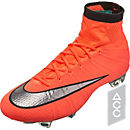 Nike Mercurial Superfly FG Soccer Cleats - Bright Mango & Hyper Turquoise