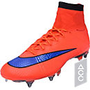 Nike Mercurial Superfly SG-Pro Soccer Cleats - Bright Crimson and Violet