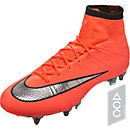 Nike Mercurial Superfly SG-Pro Soccer Cleats - Bright Mango & Hyper Turquoise