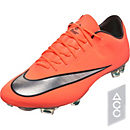 Nike Mercurial Vapor X FG Soccer Cleats - Bright Mango & Hyper Turquoise