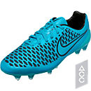 Nike Magista Opus FG Soccer Cleats - Blue and Black