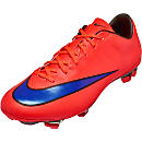 Nike Mercurial Veloce II FG Soccer Cleats - Red and Violet