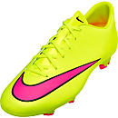 Nike Mercurial Victory V FG Soccer Cleats - Volt and Pink