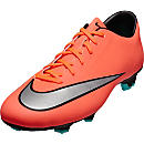Nike Mercurial Victory V FG Soccer Cleats - Bright Mango & Hyper Turqoise