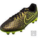 Nike Kids Magista Onda FG Soccer Cleats - Dark Citron & Black