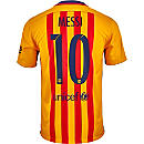 Nike Kids Lionel Messi Barcelona Away Jersey 2015