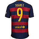 Nike Luis Suarez Barcelona Home Jersey 2015-16