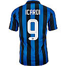 Nike Mauro Icardi Inter Milan Home Jersey 2015-16