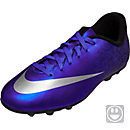 Nike Kids Mercurial Vortex II CR7 FG-R Soccer Cleats - Deep Royal Blue & Racer Blue
