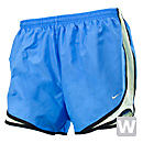 Nike Womens Tempo Short  Blue with Volt