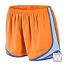 Nike Womens Tempo Short  Bright Citrus with Violet