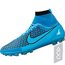 Nike Magista Obra AG-R Soccer Cleats - Blue and Black