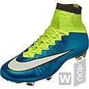 Nike Womens Mercurial  Superfly FG Soccer Cleats - Blue Lagoon