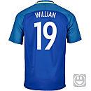 Nike Kids Willian Brazil Away Jersey 2016