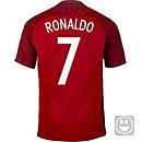 Nike Kids Cristiano Ronaldo Portugal Home Jersey 2016