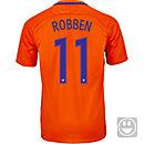 Nike Kids Arjen Robben Netherlands Home Jersey 2016