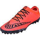 Nike MercurialX Finale Turf Shoes - Bright Crimson and Black