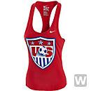 Nike Womens USA Core Plus Tank - Red